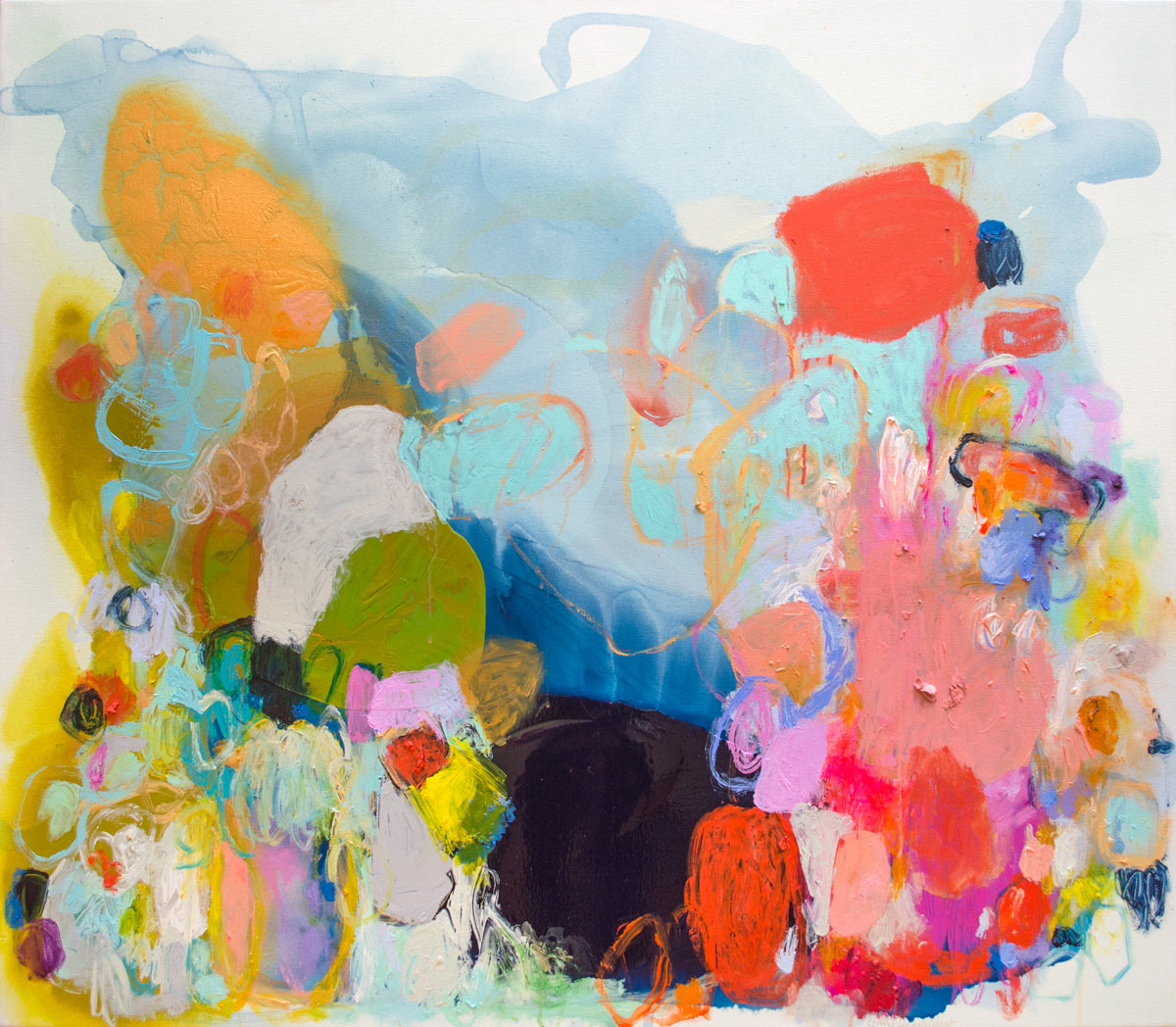 The Colorful Paintings of Claire Desjardins
