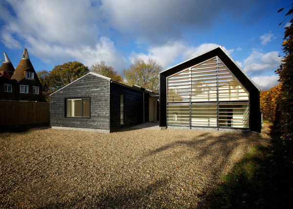 10 modern houses inspired by barns design milk for Modern barn home designs