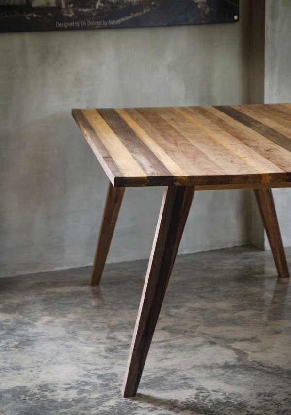 Modern Furniture Made from a Mix of Reclaimed WoodsDesign Milk