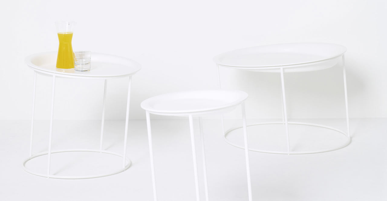 Leaning Tables That Look Like They're About to Topple Over