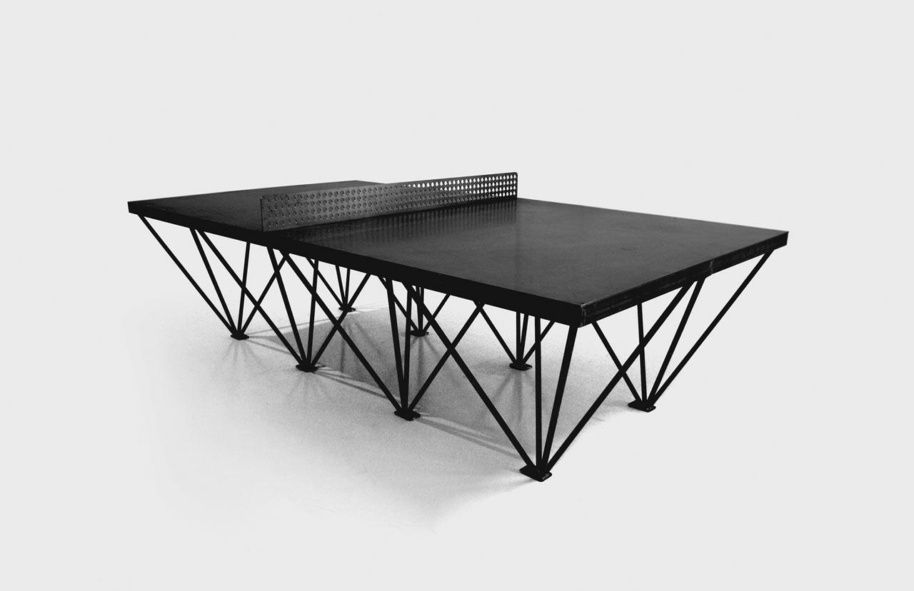 ephemeralist table public outdoor ping pong 3 design milk. Black Bedroom Furniture Sets. Home Design Ideas