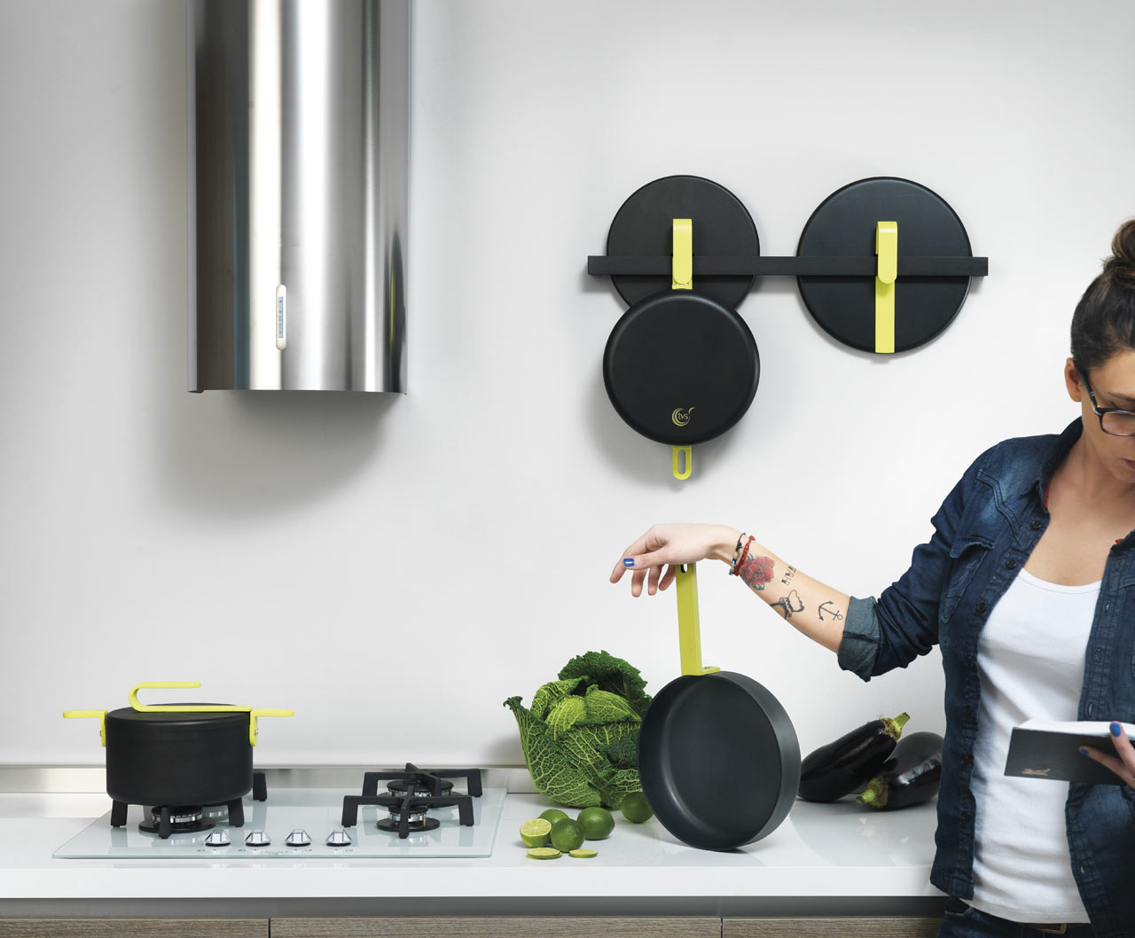 Cookware You Can Hang and Display Like Art Design Milk