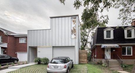A Montréal House with a Flipped Floor Plan