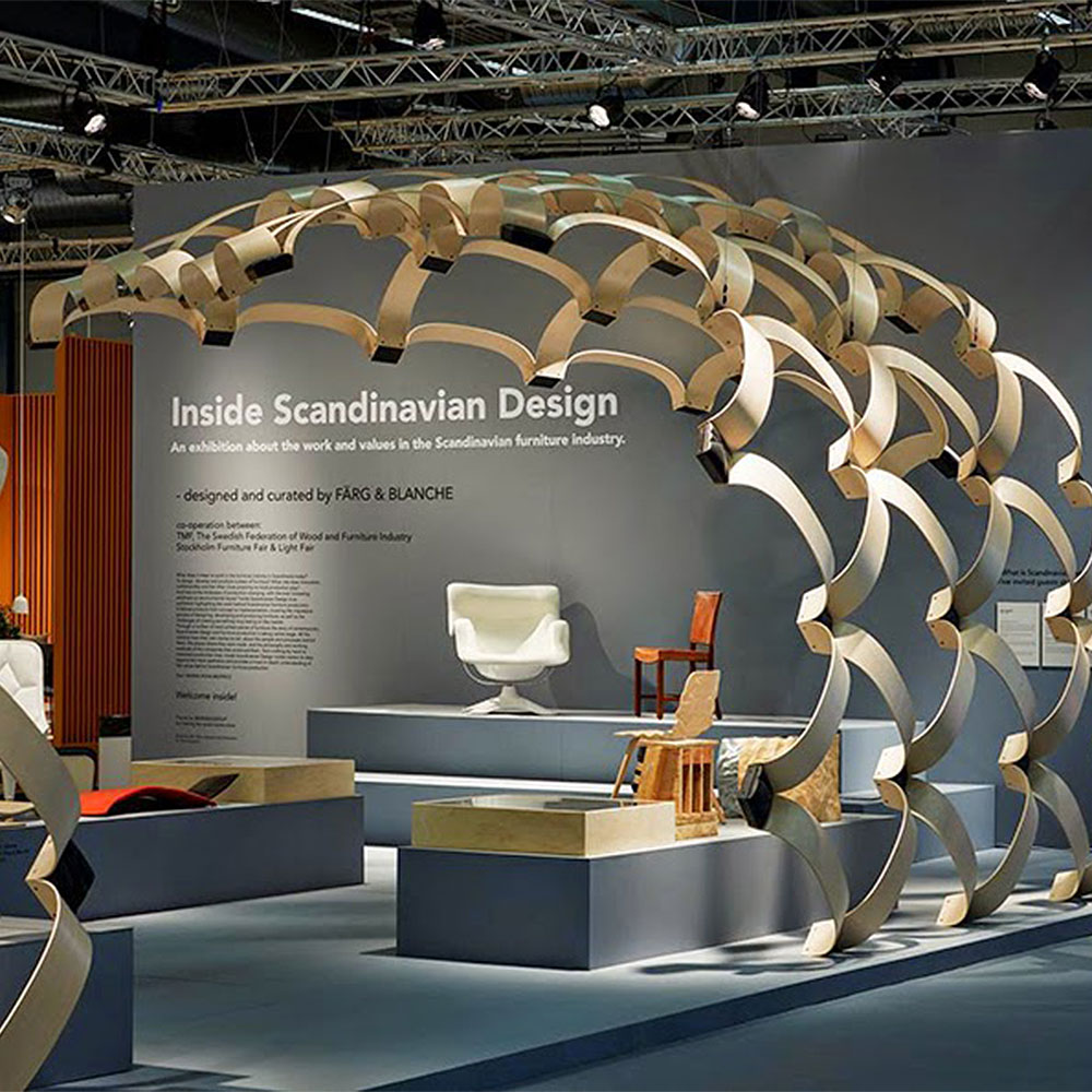 Inside Scandinavian Design at the Stockholm Furniture Fair