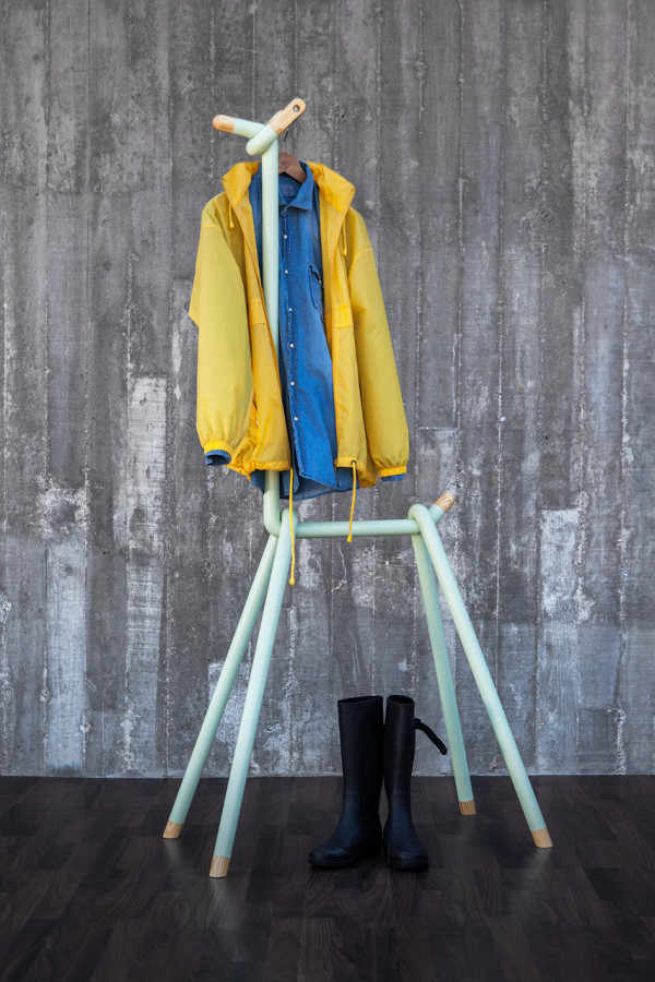 A silly piece of furniture to hang your clothes on for Furniture to hang clothes