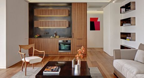 A 32nd Floor NYC Apartment Overlooking Madison Square Park