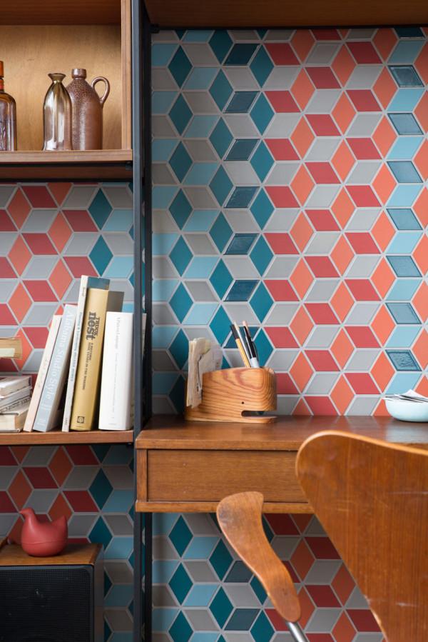 Heath Ceramics Launches Mural A Multidimensional Pattern Design Milk