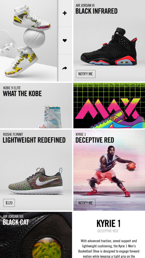 c334b3515d0a4 Nike Launches SNKRS App for iOS and Android - Design Milk