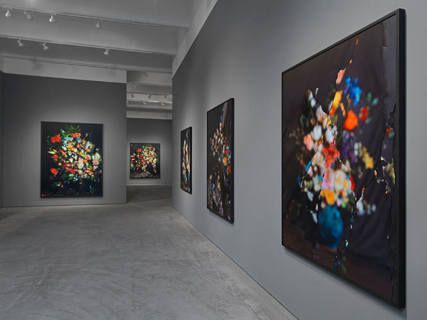 Ori Gersht, On Reflection, Installation at CRG Gallery