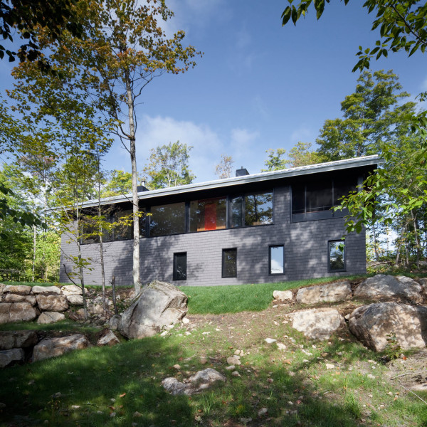 Modern Forest House: A Modern Cottage On The Edge Of The Forest
