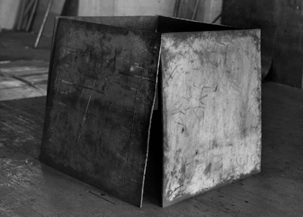 """One Ton Prop (House of Cards)"" - by Richard Serra (1969)."