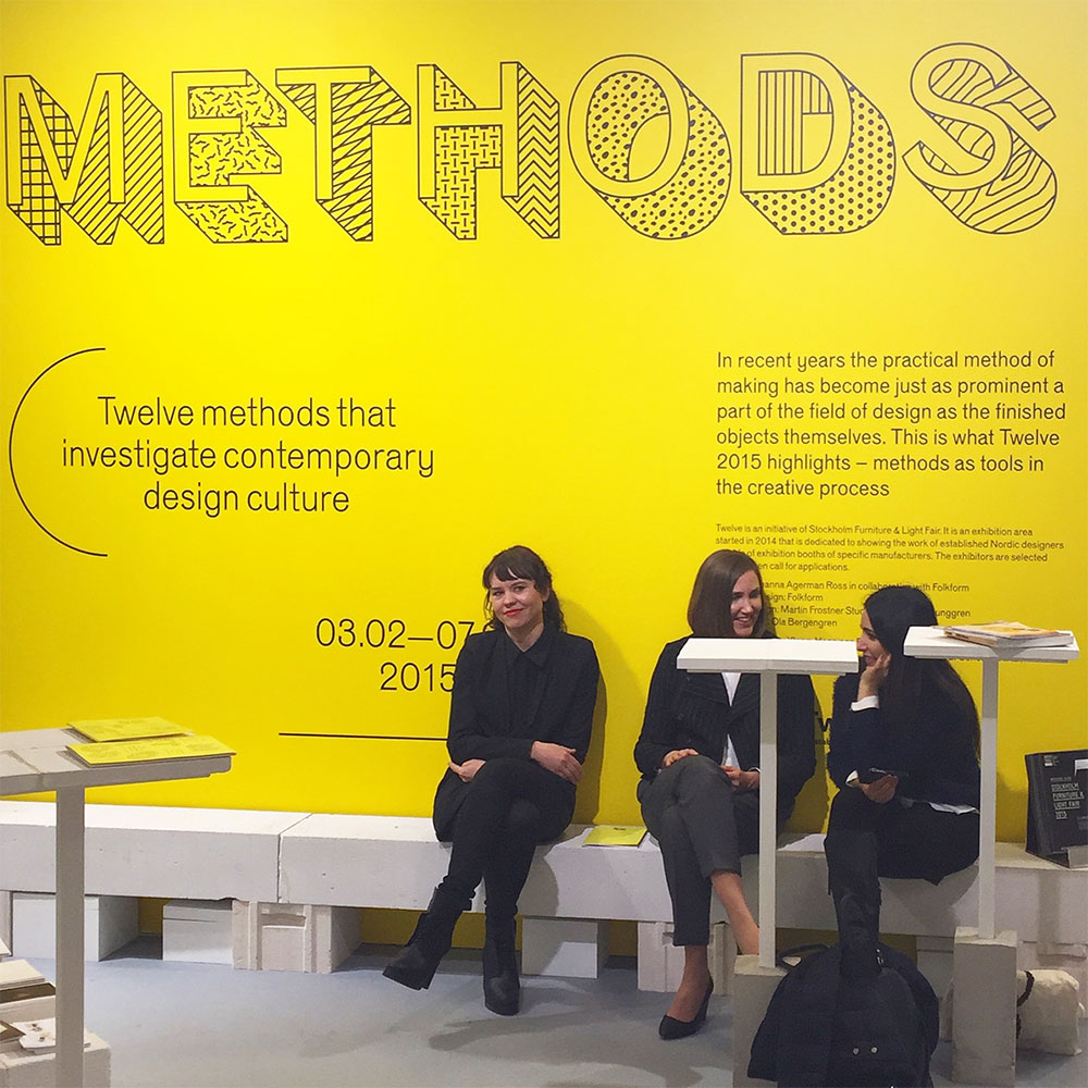 12 Methods From 12 Designers at the Stockholm Furniture Fair 2015