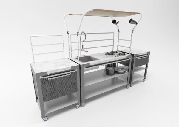 Satellite Kitchen Design