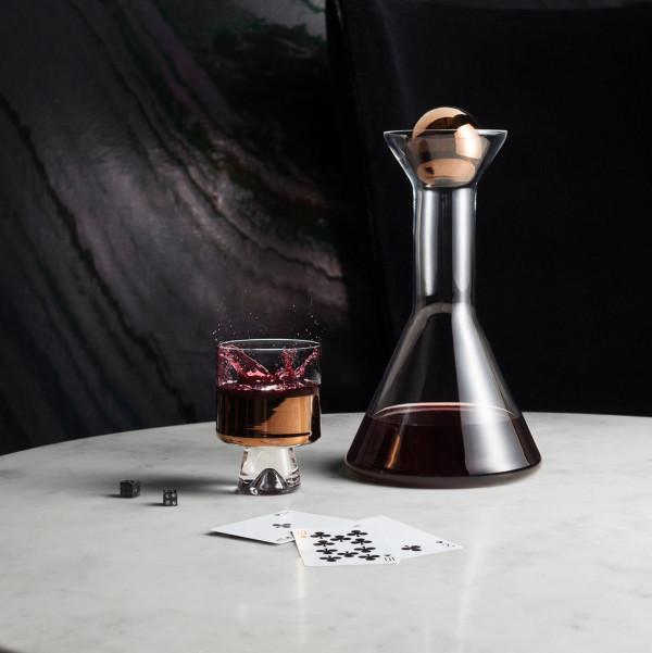 Tank Glass Copper Vases And Barware From Tom Dixon Design Milk