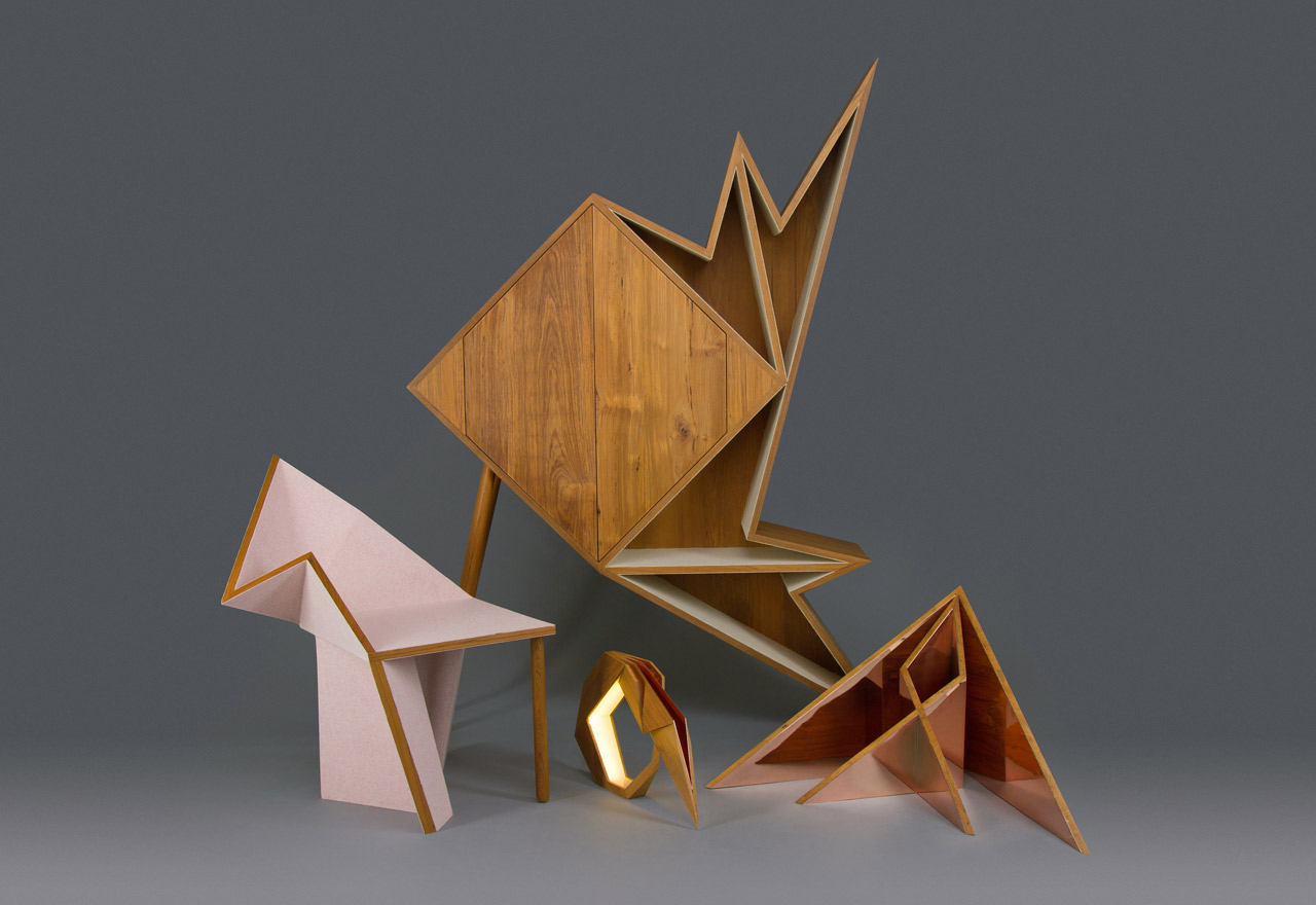 A Series of Geometric Furniture & Objects