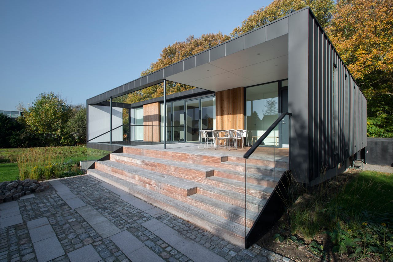 A Villa in Denmark Located on the Edge of a Forest