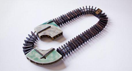 Bali-Based Vulantri's Bold Ceramic Necklaces