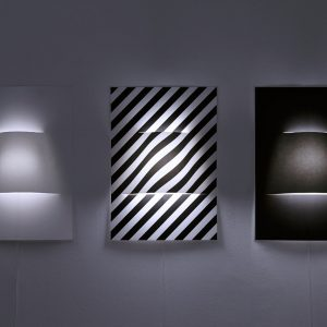 A Wall Lamp Made From a Sheet of Paper