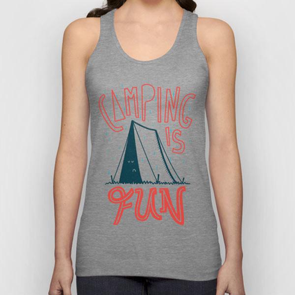 camping-fun-tank-top