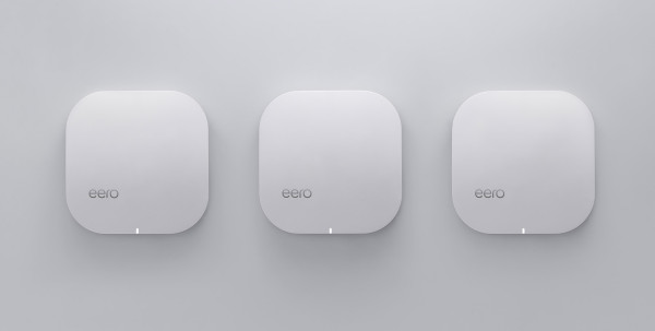 Reflective of the system's intended use, Eero will be available in a pack of three for a pre-order price of $299.