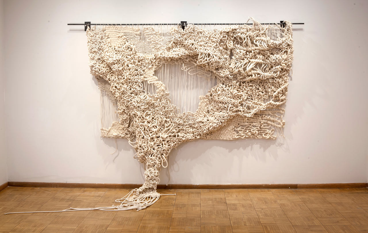 Sculptural Wall Hangings by Jacqueline Surdell
