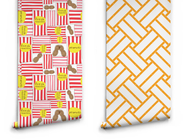 Circus Peanuts by Treat And Company and Bamboo by Noam Mechaly