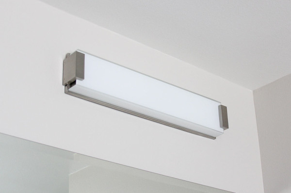 Lastest These Lights Mainly Differ In Their Brightness Measured In Lumens, Colours  Who Wouldnt Want Task Lighting For The Mirror In The Bathroom? However, A Mirror Fixed Directly On Top Of The Bathroom Can Cause Shadows Therefore, Task
