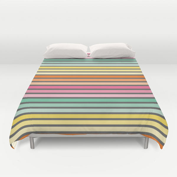 rainbow-striped-duvet
