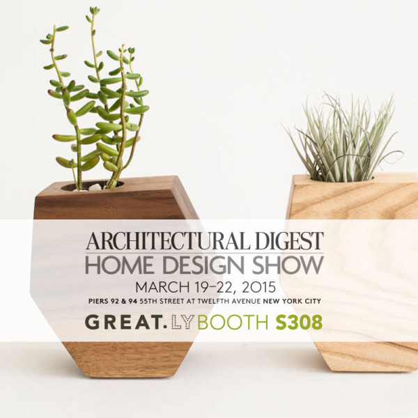 the 2015 architectural digest home design show is almost