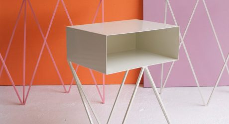 &New: Modern, Minimalist Furniture Made of Steel