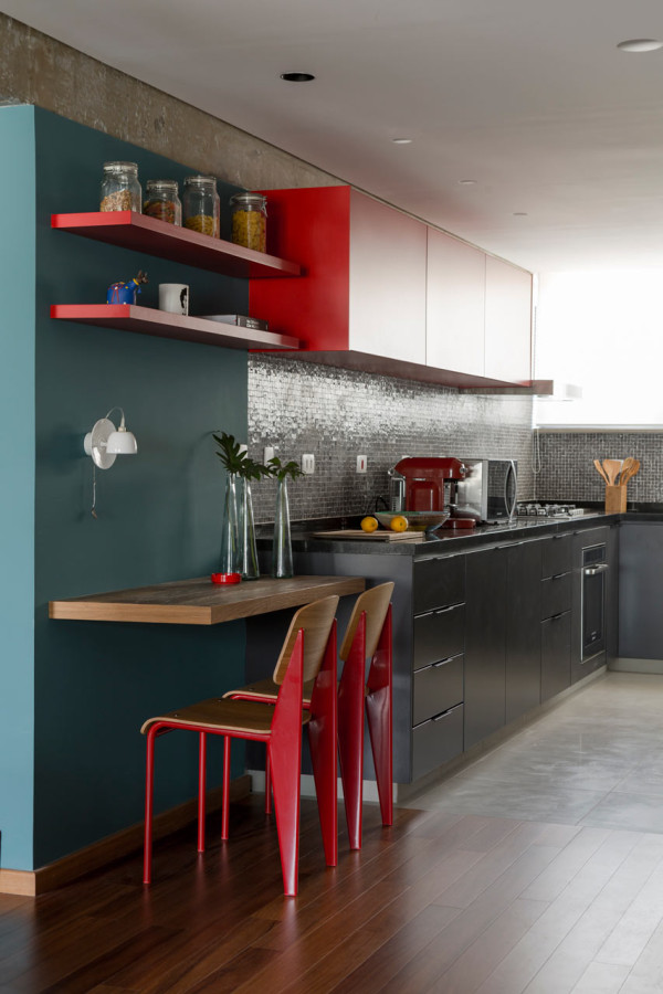 Red Kitchen Wall Stickers