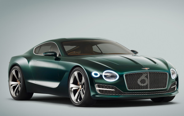 "Bentley has reinterpreted signature detailing like their iconic matrix grill – one that now hides a giant ""6"" only visible from certain angles – to a bold quartet of LED-powered headlamps, to a specially formulated metallic version of British Racing Green paintwork which boldly marks the brand's motorsports heritage."