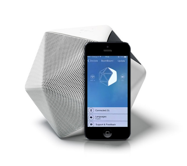 A companion Boom Boom app sets out to inta-capture sound to store and share in the same fashion smartphone users have become accustomed to snapshotting photos wherever they go.