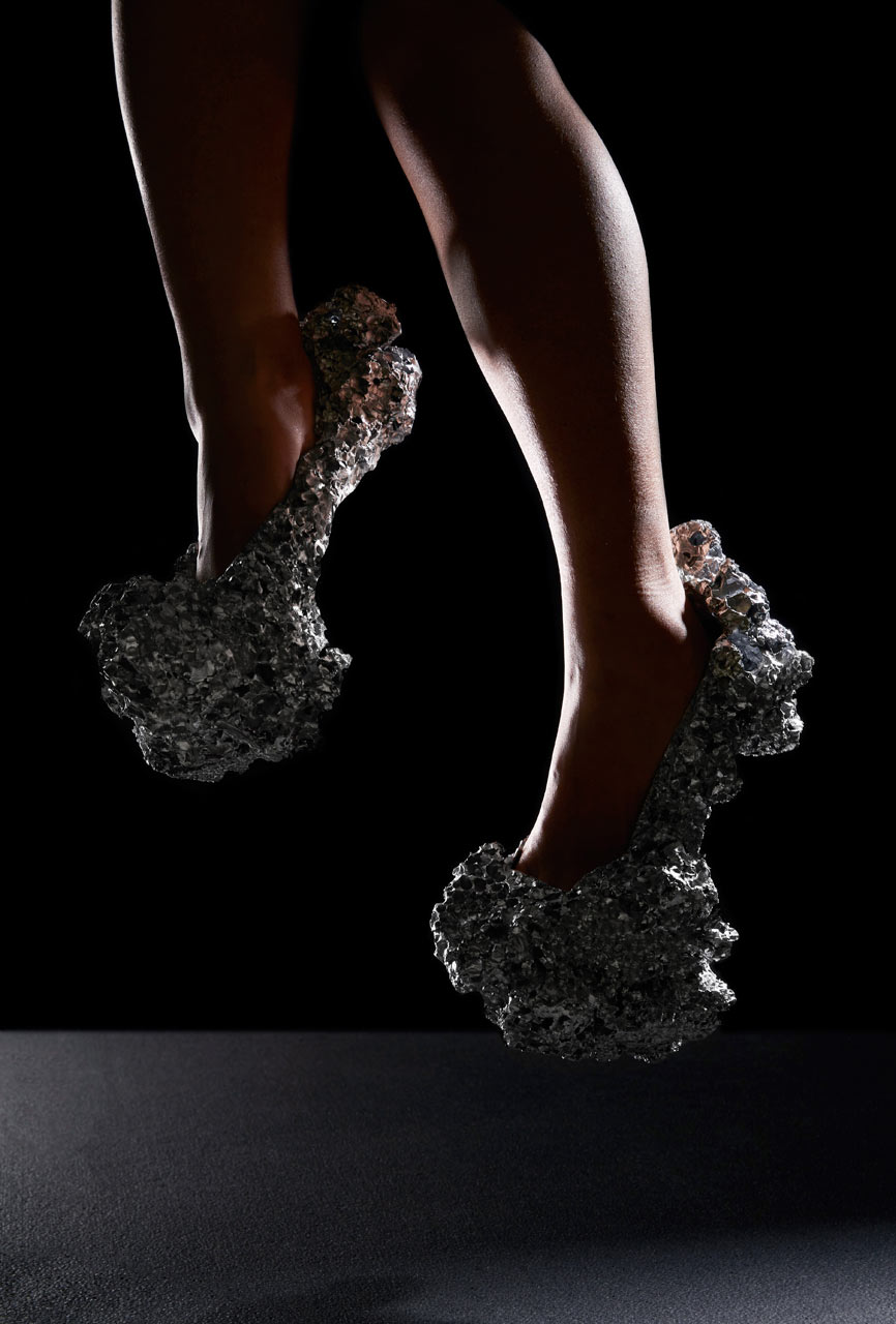 How to Create Shoes Inspired by a Comet Landing