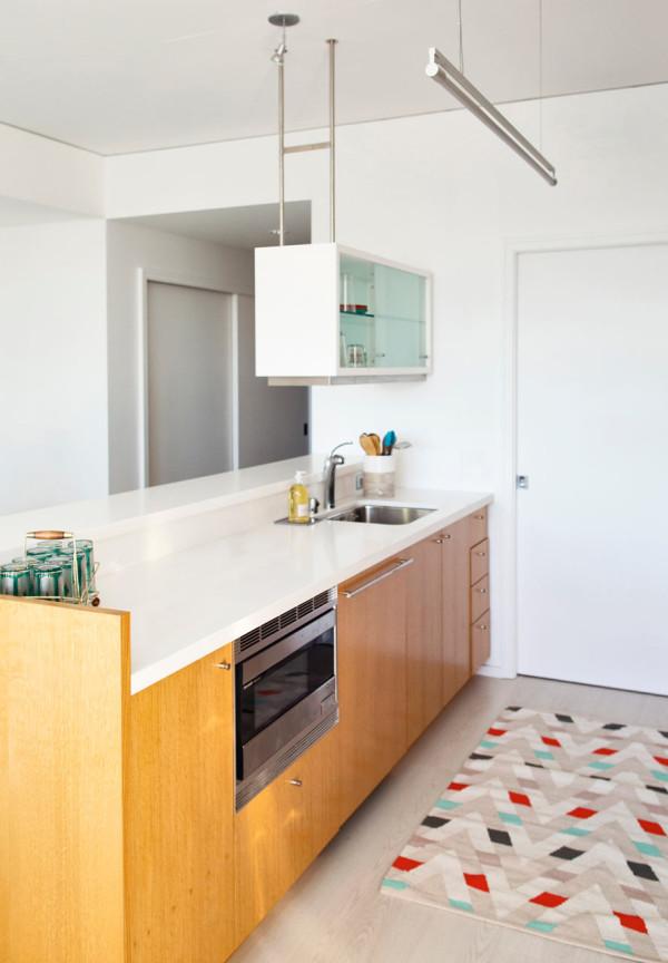 Downtown LA Loft BAM Design Lab 6 The kitchen needed a facelift so