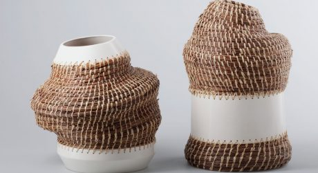 Angolan Basket Weaving Meets Traditional Ceramics