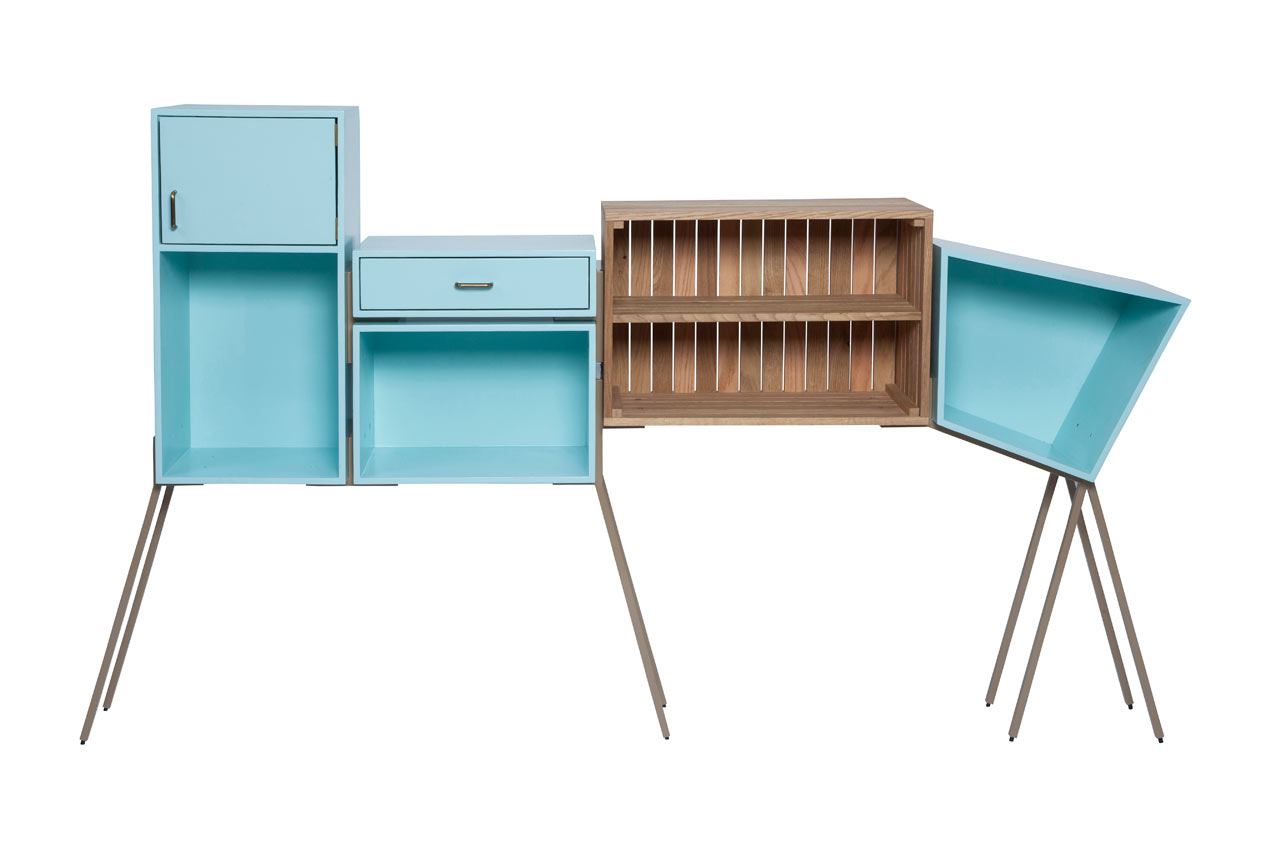 A Family of Quirky Cabinets from Magenta Workshop