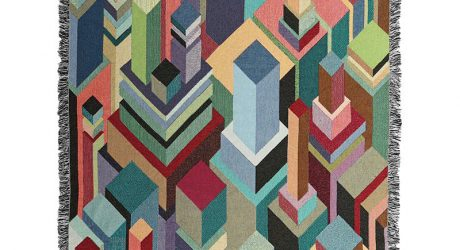 Matt W. Moore Brings His Colorful Graphics to Blankets