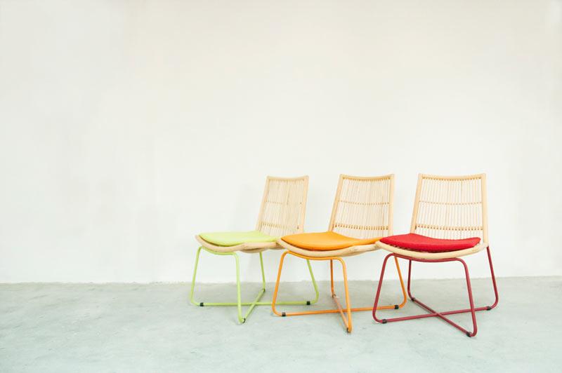 Net Series Modern Rattan Furniture By Studiohiji Design Milk