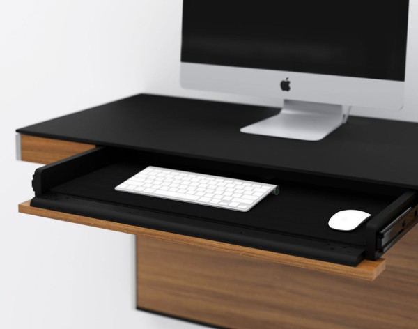 wall mounted desk for smaller spaces design milk
