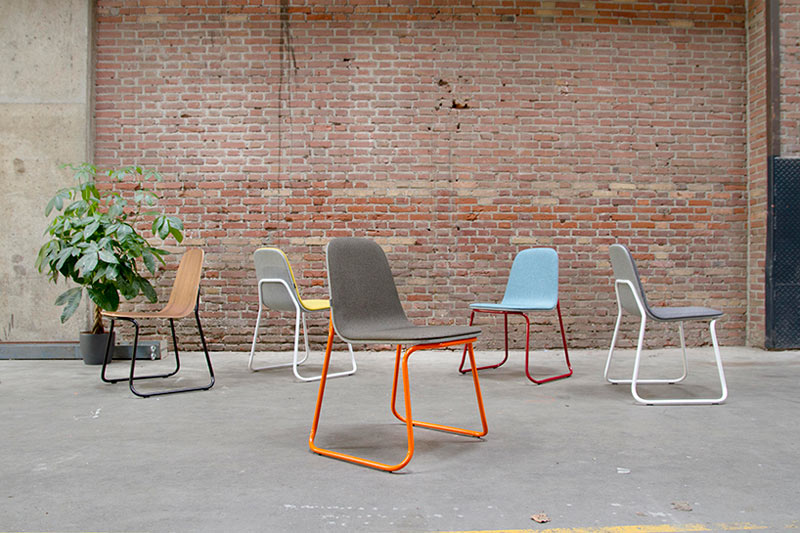 Colorful Chair by Jacob Nitz for bogaerts