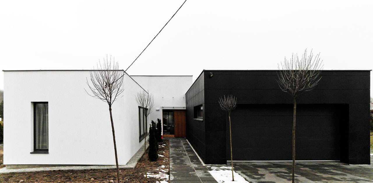 A Family's 3rd and Final House in Lodz, Poland