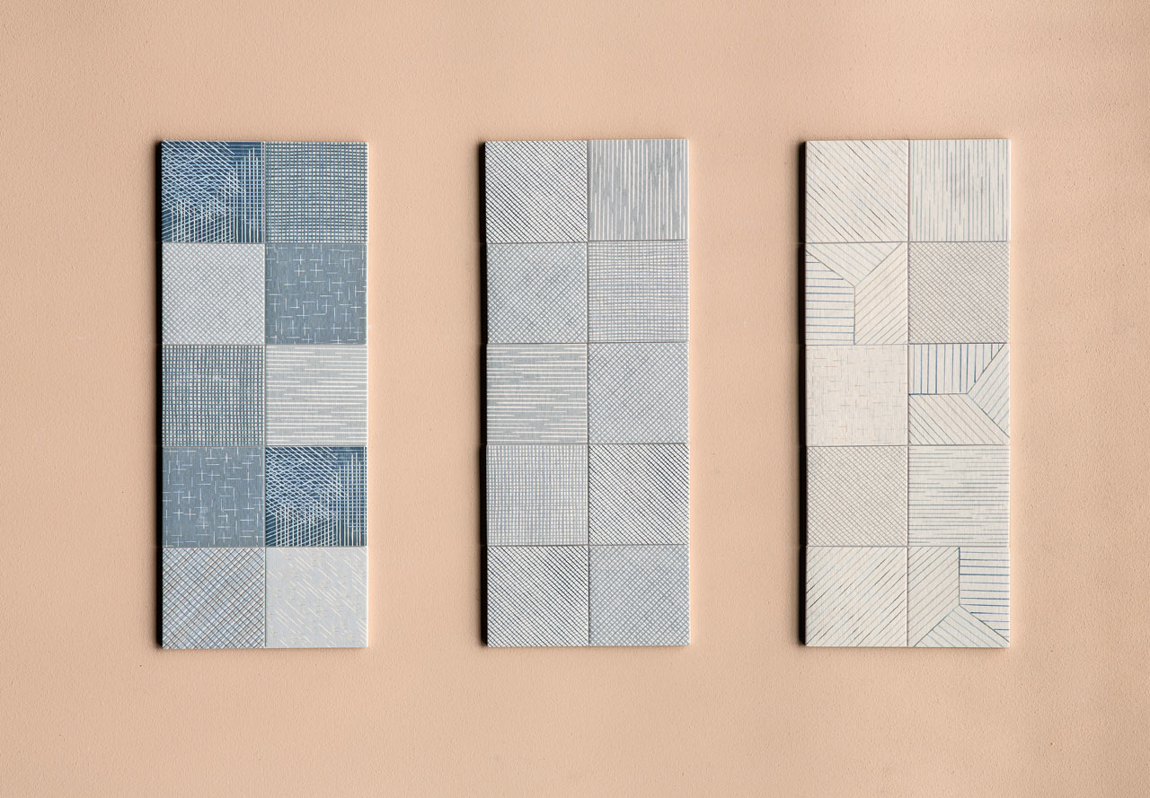 Inga Sempé Designs a Line of Graphic Tiles for Mutina