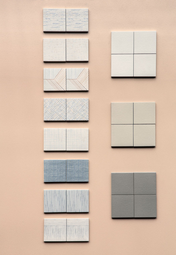 Inga semp designs a line of graphic tiles for mutina for Web design tile layout