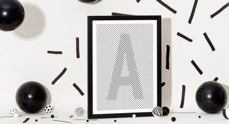 Visually Stimulating Prints of Letters