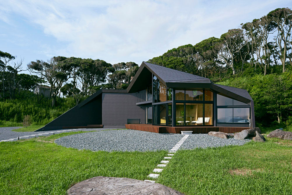 A House On A Hill Facing The Sea Design Milk