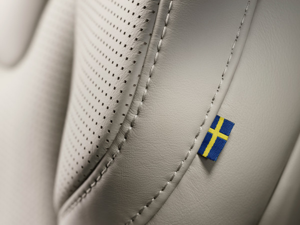 It might be seem a small detail, but the inclusion of the Swedish flag was one debated as perhaps too flashy. In the end, it was deemed representative of the Volvo's commitment to honor the country's design heritage.