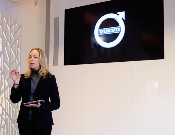Tisha Johnson, Volvo's Chief Designer of Interiors  presenting a primer about the design culture of Sweden.