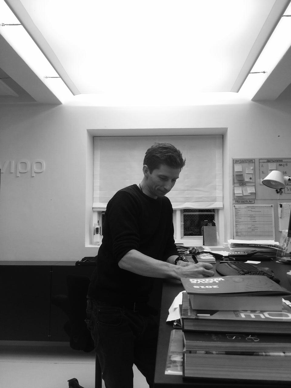 Where I Work: Morten Bo Jensen of Vipp