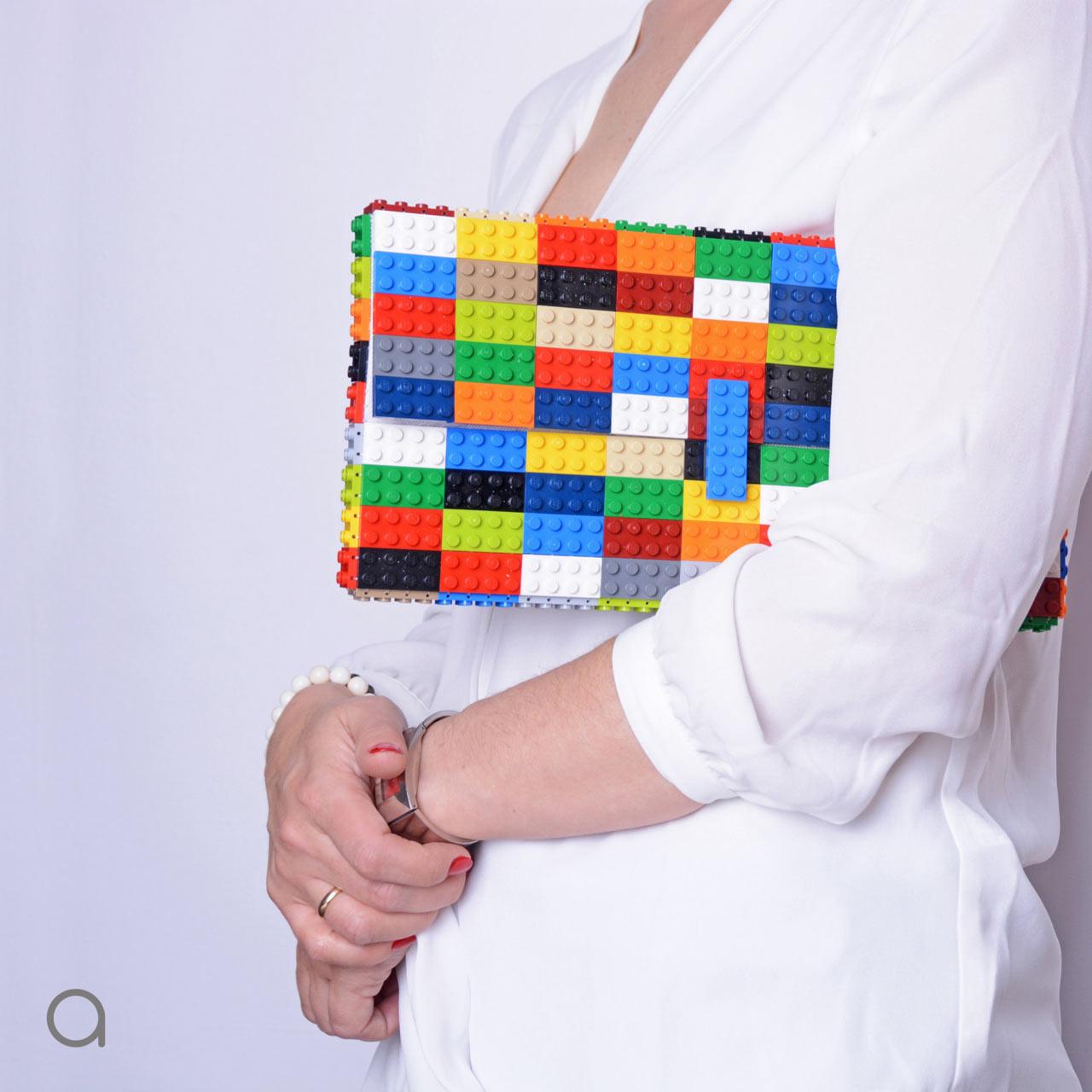 agabag lego bag 1 design milk. Black Bedroom Furniture Sets. Home Design Ideas